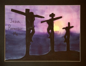 Jesus Crosses Over