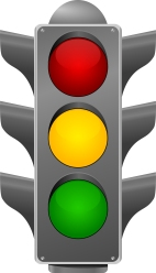 stoplight. vector